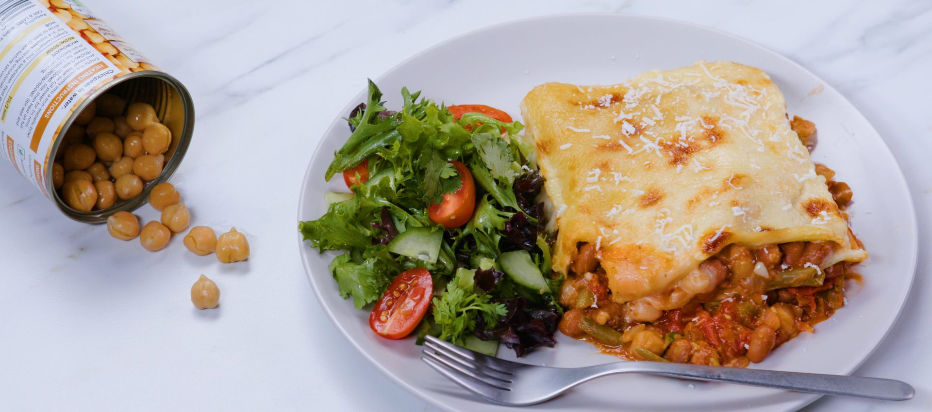 Meat-free Lasagne - Love Canned Food